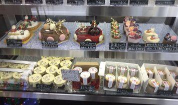 琉球プティングクリスマスケーキ